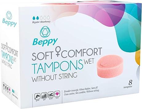 Beppy Soft Comfort- Tampones con recubrimiento lubricante, (1 x 8 piezas)
