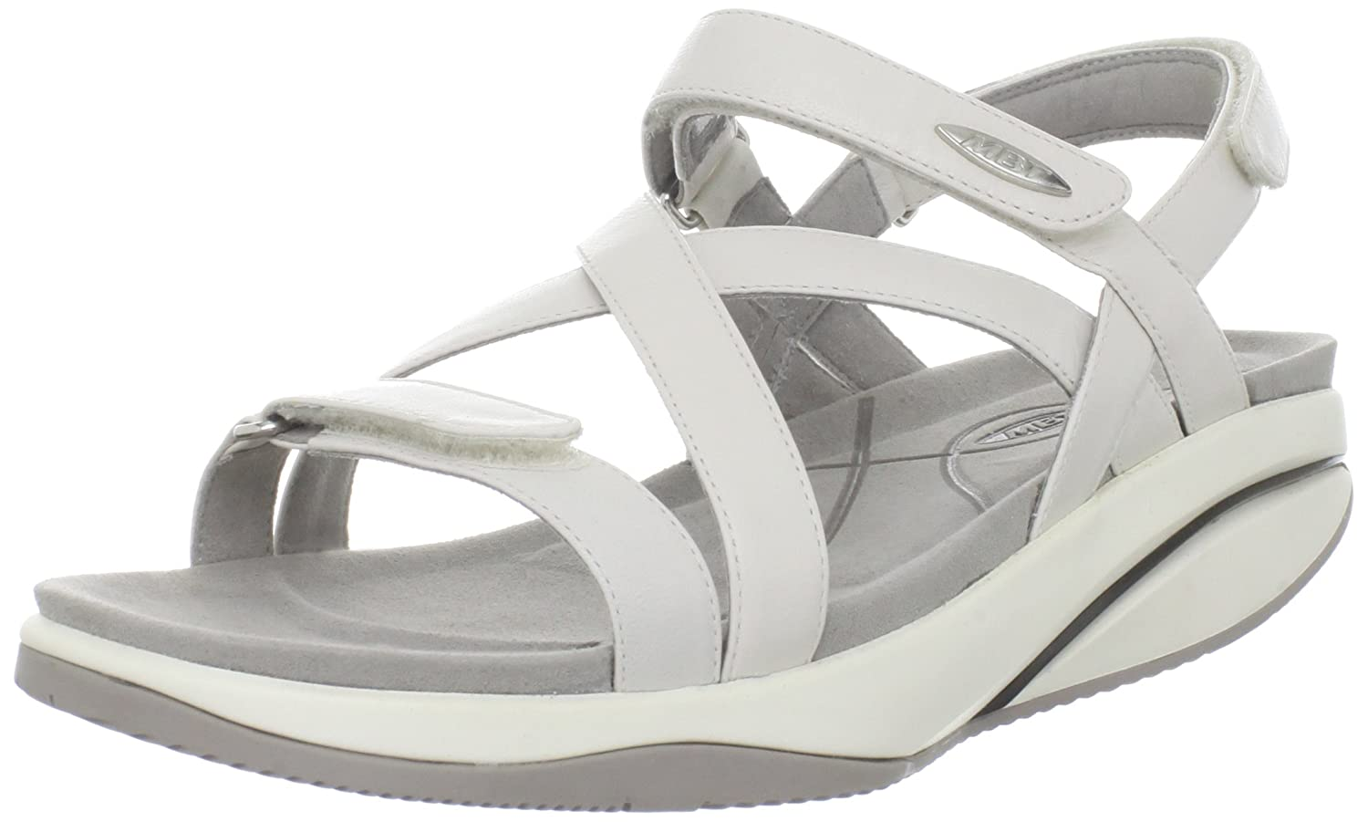 Vionic Port Frances Backstrap Wedge B071WSY8NW 11 M US|White