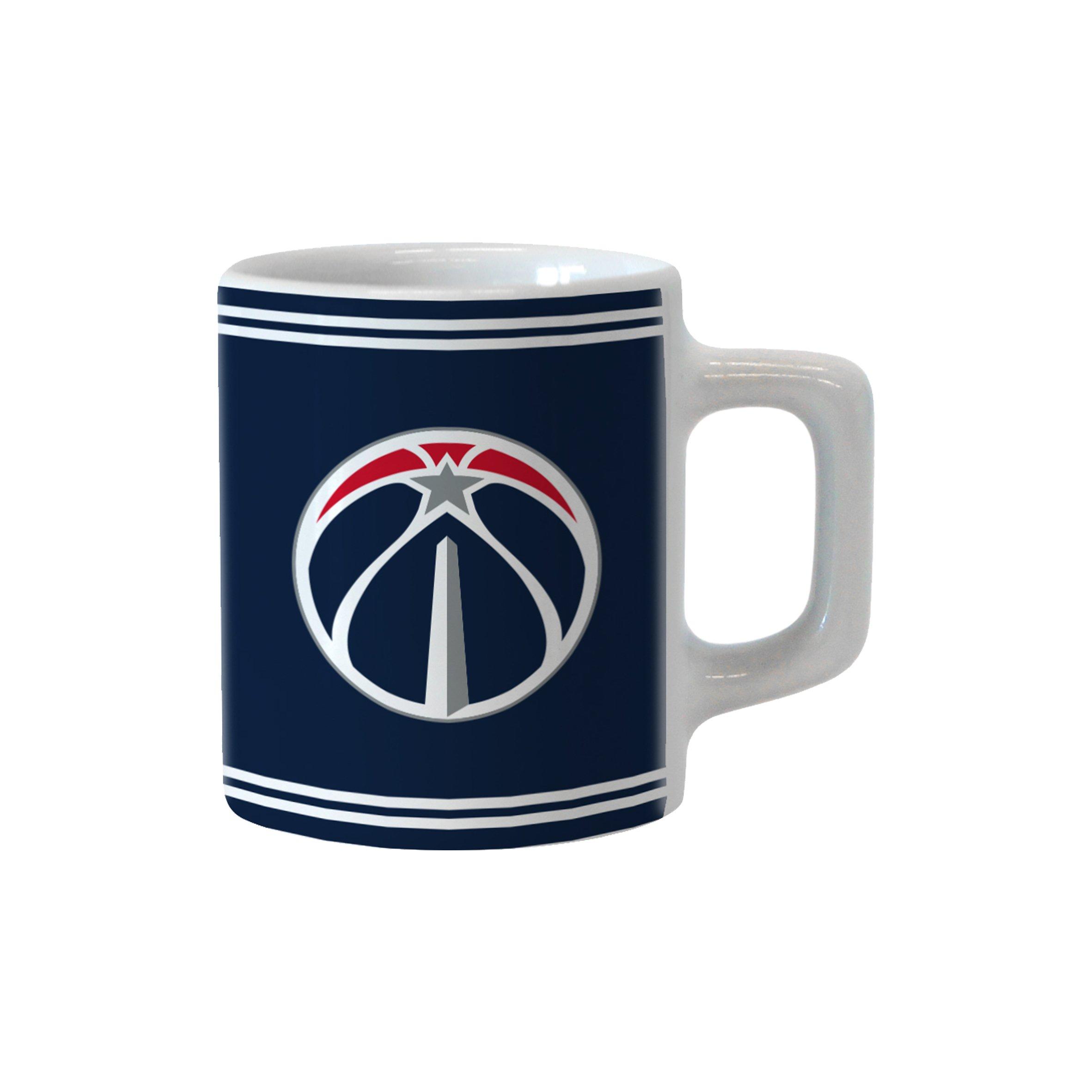 Boelter Brands NBA Washington Wizards Sublimated Mini Mug, 2-Ounce