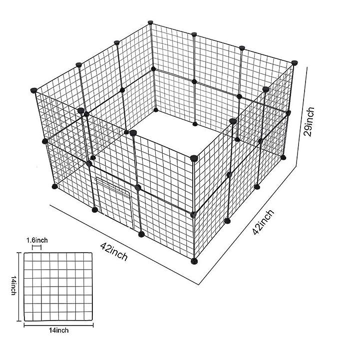 24 Panel Metal Enclosure Diy Net Exercise Yard