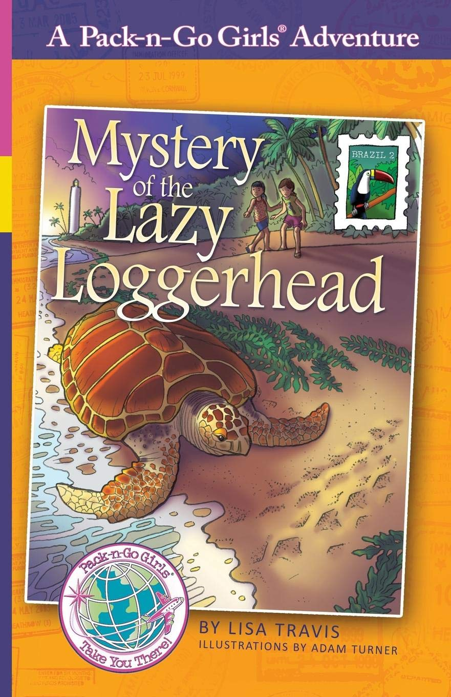 Mystery Of The Lazy Loggerhead  Brazil 2  Pack N Go Girls Adventures Band 7