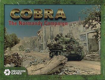 Strategic Wargame Cobra: The Normandy Campaign, 6 June to 26 August 1944: Amazon.es: Juguetes y juegos