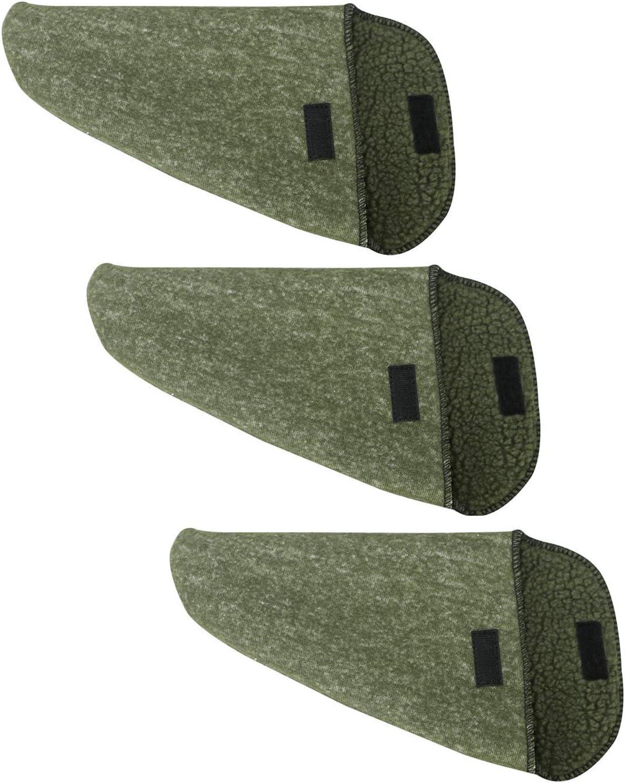 Pack of 3 Tourbon Coque en Silicone Trait/É Pistolet Sock Pistolet Manches Pistolet De Stockage