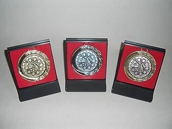 Dart Darts Pokal Kids 20 x Medaillen mit Deutschland-Band Turnier Emblem Pokale Medaillen