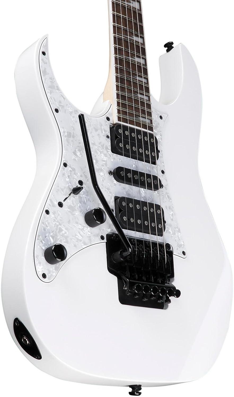 Ibanez rg450dxb, para zurdos, color blanco: Amazon.es: Instrumentos musicales