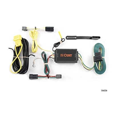 CURT 56026 Vehicle-Side Custom 4-Pin Trailer Wiring Harness for Select Saturn Vue, Chevrolet Captiva: Automotive