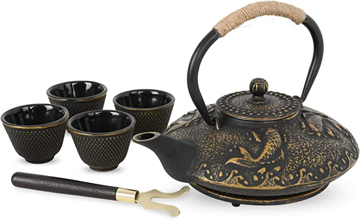 Japanese Tea Pot With Cups