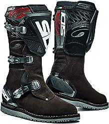 Sidi Trial Zero.1 Off Road Motorcycle Boots Brown Suede US9.5/EU43