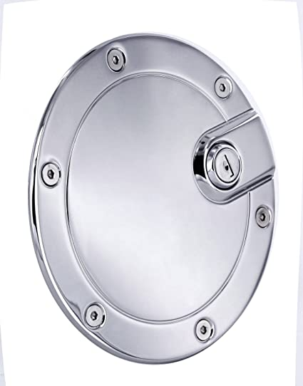 Bully BBS-1221CK Billet Aluminum Fuel Door with Lock