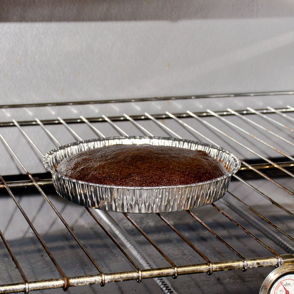 Durable Packaging Disposable Aluminum Round Cake Pan, 9'' Round x 1-7/16'' Deep (Pack of 500)