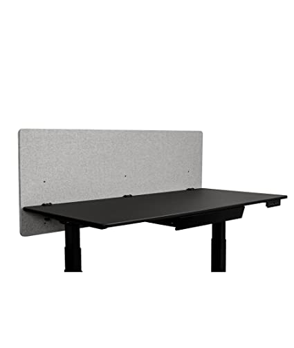 cool gray office furniture. e refocus acoustic rear mount desk dividers  privacy panel u2013 reduce  noise and visual distractions