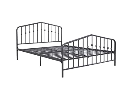 Classic Queen Metal Bed Frame Style