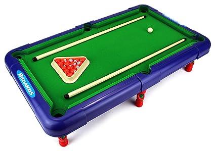 Incroyable Superior Billiards Novelty Toy Billiard Pool Table Game W/ Table, Full Set  Of Billiard