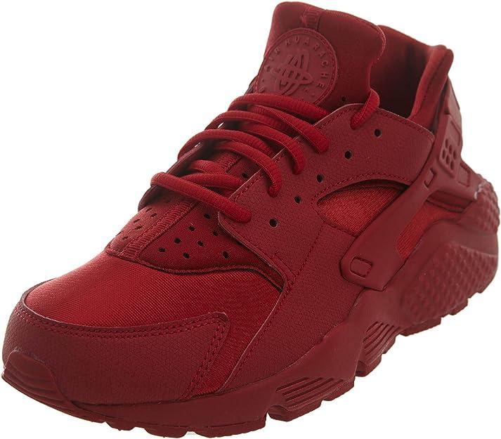 diferente Inhibir Locura  Amazon.com | Nike Air Huarache Run Women's Shoes Atomic Pink/Atomic Pink  634835-603 | Road Running