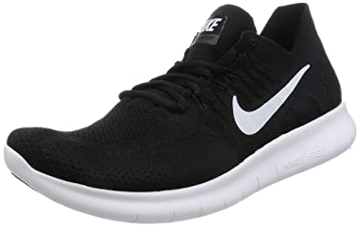 info for 99fbb b1bda Nike Men s Free RN Flyknit 2017 Running Shoe Light Carbon Obsidian Black  Black