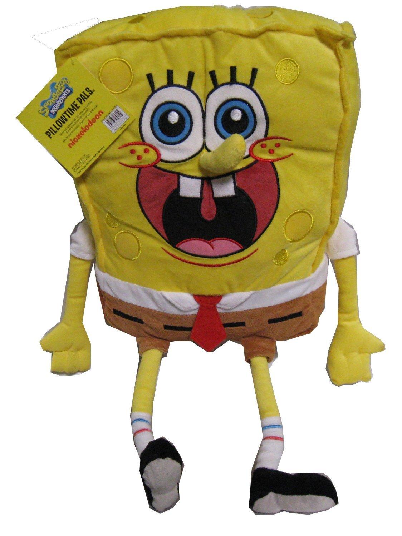 Nickelodeon Spongebob Squarepants Cuddle Pillow - 23'' Pillowtime Pal