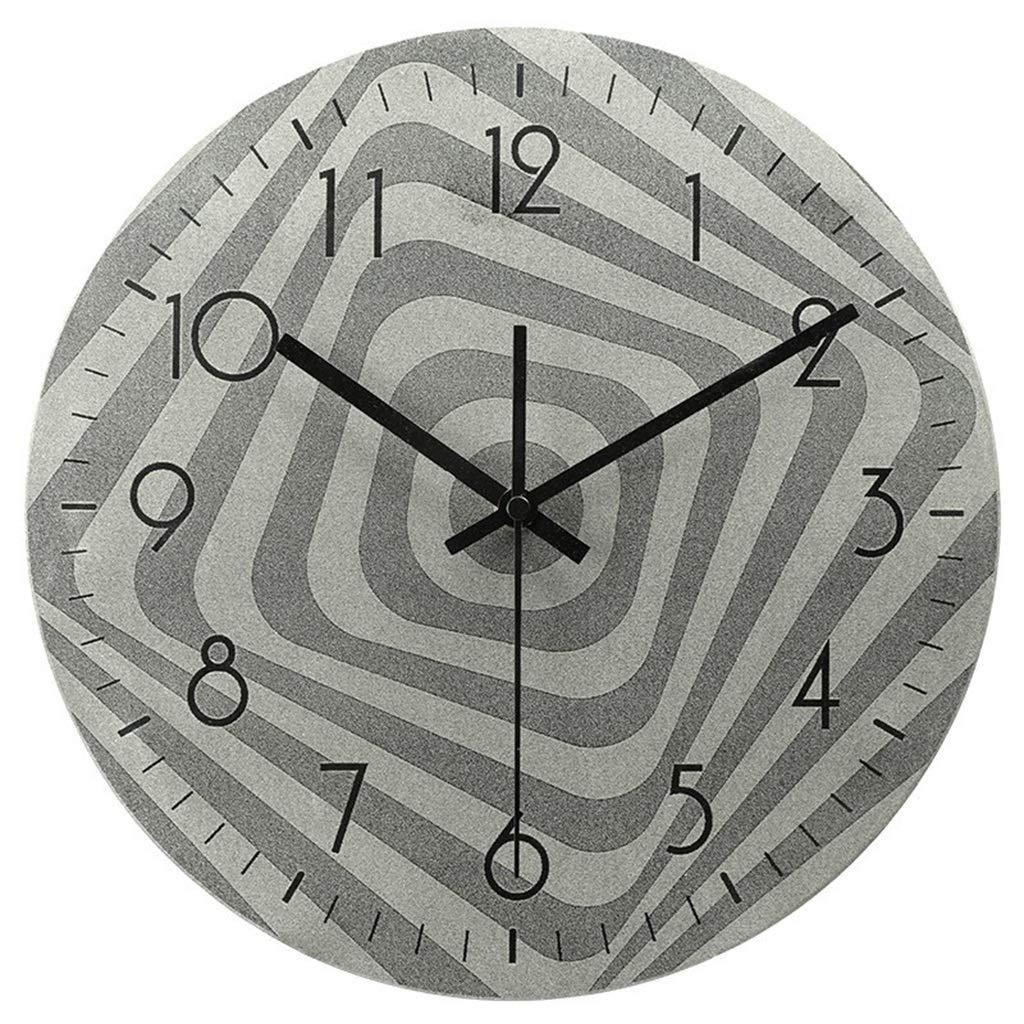 ホーム&時計 壁時計ノンチックバッテリー駆動工業用ヴィンテージ装飾リビングルームの寝室サイレントレトロクォーツ時計 サイレント掛け時計   B07QV87VKD