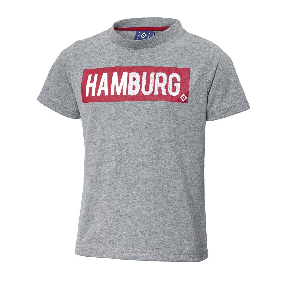 104-164 grau T-Shirt Sverre Gr Hamburger SV HSV Kinder