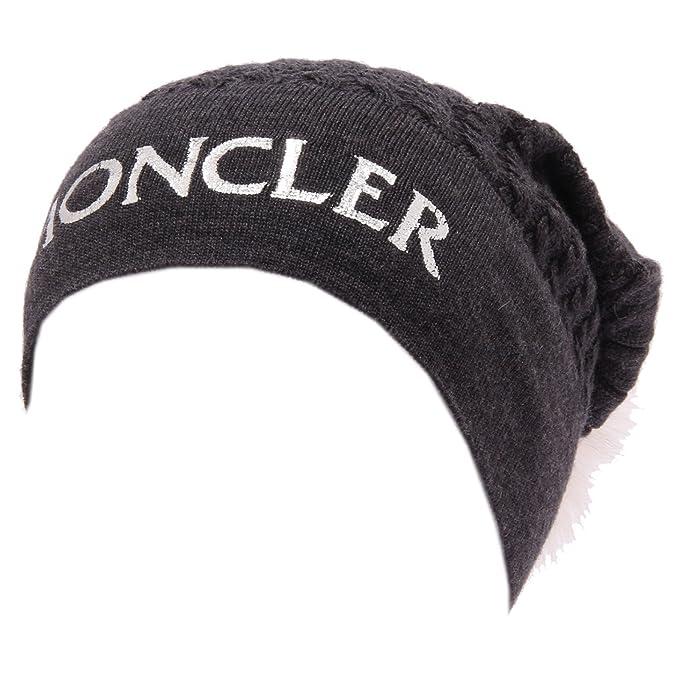 Moncler 1053W cuffia donna BERRETTO grey hat wool kid  S 48 CM   Amazon.it   Abbigliamento 3942f1852832