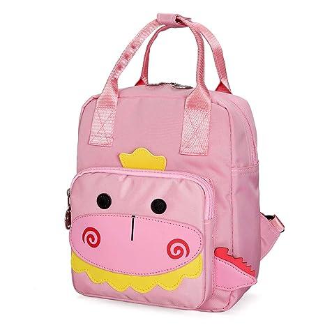 d6da73b8effb Amazon.com | Cute School Bag Mini Kid Dinosaur Backpack Toddler ...