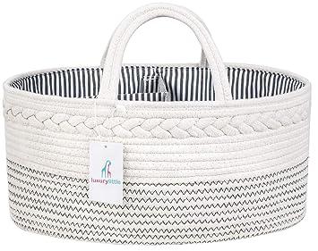 Amazon.com: Organizador de pañales para bebé de lujo ...