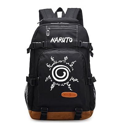 Gumstyle Naruto Luminous School Bag College Backpack Bookbags Student Laptop Bags