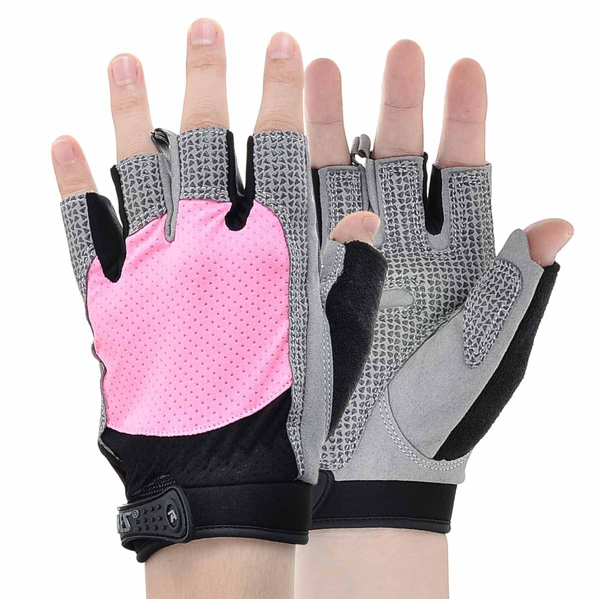 Aqf Weight Lifting Gloves Ultralight Breathable Gym Gloves: Gloves