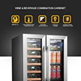 Lanbo Wine and Beverage Refrigerator, Compact
