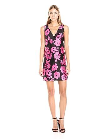 f6f9bf055fd8 Amazon.com: MILLY Women's Floral Print Mini Dress: Clothing