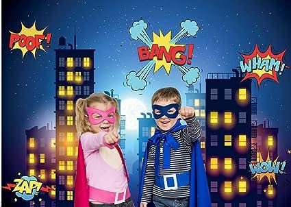 Dudaacvt Fotohintergrund Mit Superhelden Motiv 2 X 1 5 Kamera