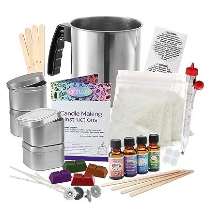 Amazon.com: Kit completo de bricolaje para hacer velas ...
