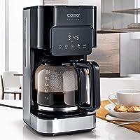 Caso 1846 Coffee Taste & Style Design Kahve Makinesi, 900 W, 1,5L, Paslanmaz Çelik, Siyah