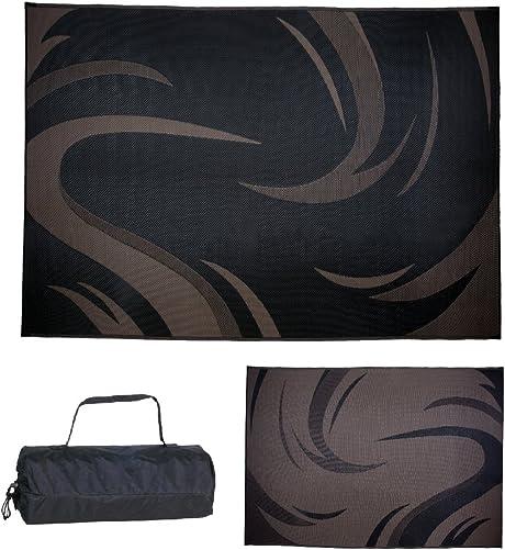 Ming s Mark Inc. SD8111 Mat Graphic Swish 8 X 11, Black Brown