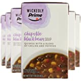 Wickedly Prime Chipotle Black Bean Soup, 17 Ounce (Pack of 6)