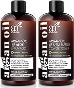 ArtNaturals Organic Moroccan Argan Oil Shampoo and Conditioner Set - (2