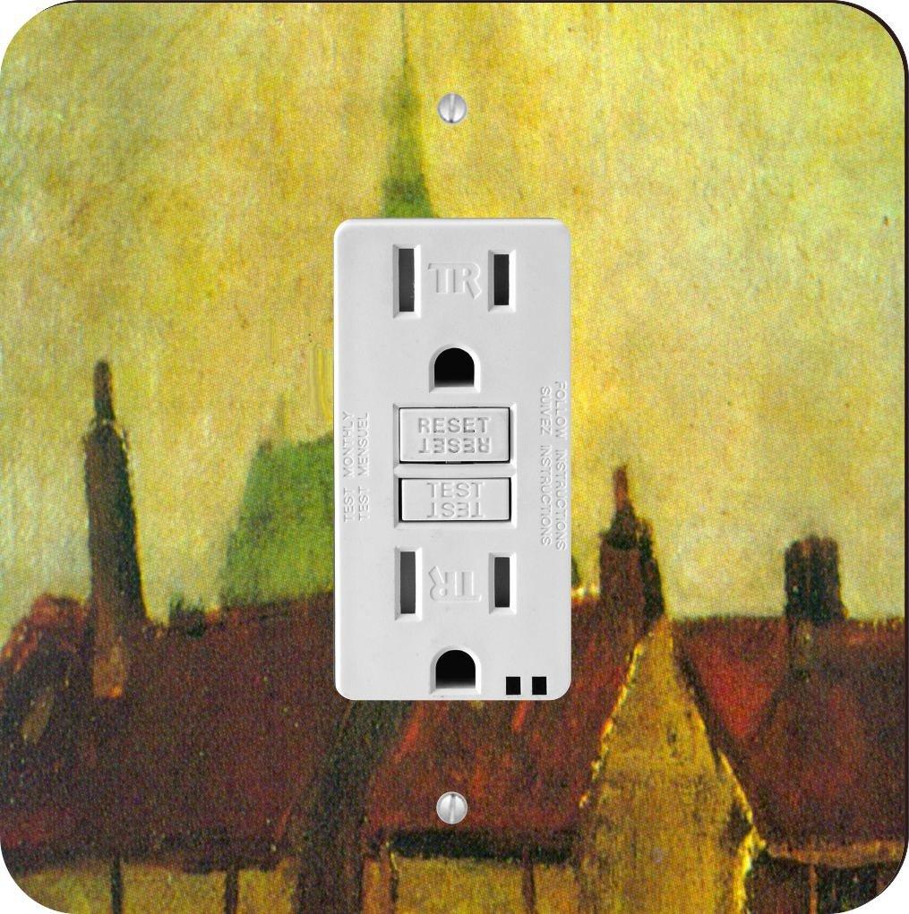 Rikki Knight 1371 Van Gogh Art Cluster Design Light Switch Plate ...