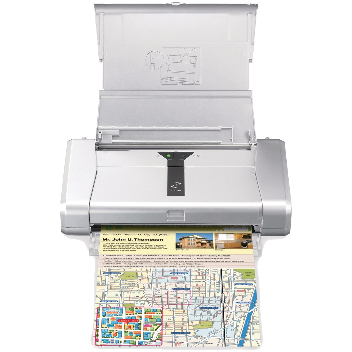 Color printing bu - Amazon Com Canon Pixma Ip100 Mobile Photo Printer Discontinued By Manufacturer Office Products