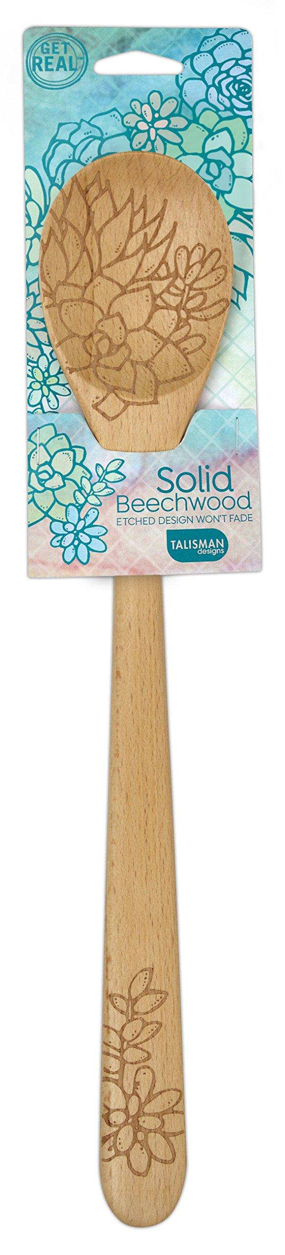 Talisman Designs 1996 Succulents Design Beechwood, Sauce Spoon by Talisman Designs (Image #1)