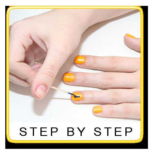 Nail Art Step By Step