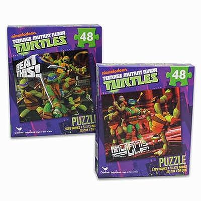 2-Pack Teenage Mutant Ninja Turtles TMNT 48-Piece Puzzles