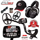 Garrett AT Max Metal Detector with Z-Lynk Wireless Headphones Plus Accessories