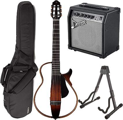 Yamaha SLG200N TBS Guitarra eléctrica acústica de cuerda ...