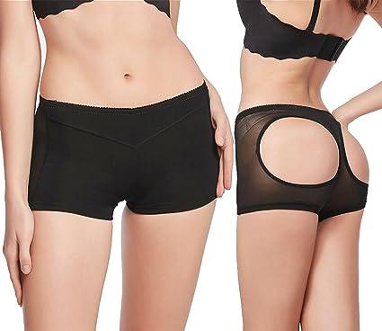 5754a44c4 Beyove Women Butt Lifter Shaper Bum Lift Pants Buttocks Enhancer Boyshorts  Booty Briefs(1PC