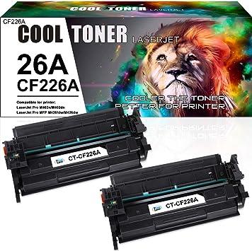 10 PK CF226A Toner Cartridge Compatible for HP LaserJet Pro M402 MFP M426 M402n