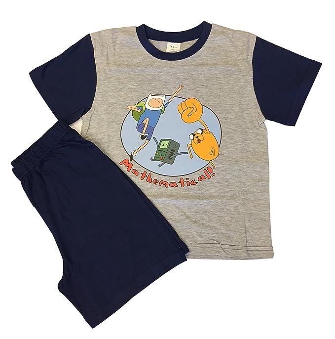 De la hora de aventuras Matemática! para ropa de niños pijama