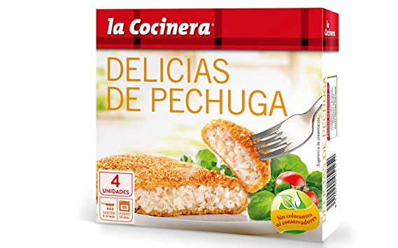 La Cocinera - Pechuga Empanada, 330 g