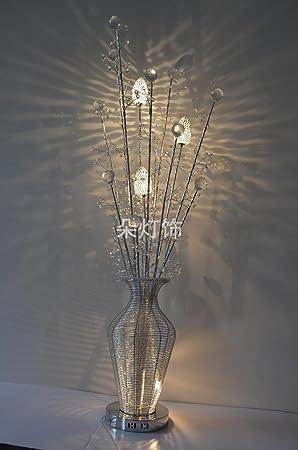 De CristalDécoration Xinqideng Plancher Fleurs Et En Lampe eEYIHW9D2