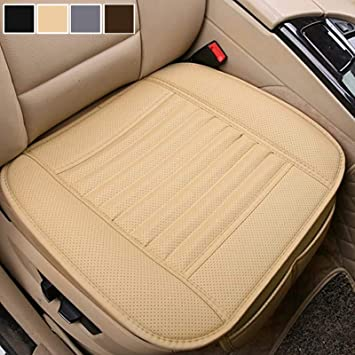 2 Pcs Vehicle Car Front Seat Covers Elastic Protector Cushion Breathable Durable