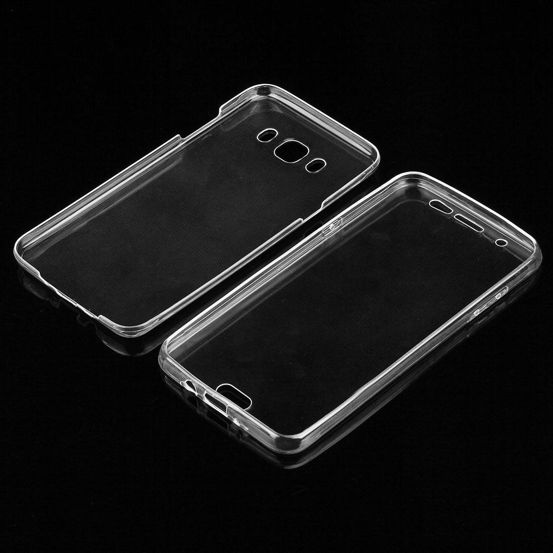 caso Para Samsung Galaxy J7 2016 JIALUN // J710 0,75 mm de doble cara ultrafina TPU transparente caso de protecci/ón Hermoso y pr/áctico