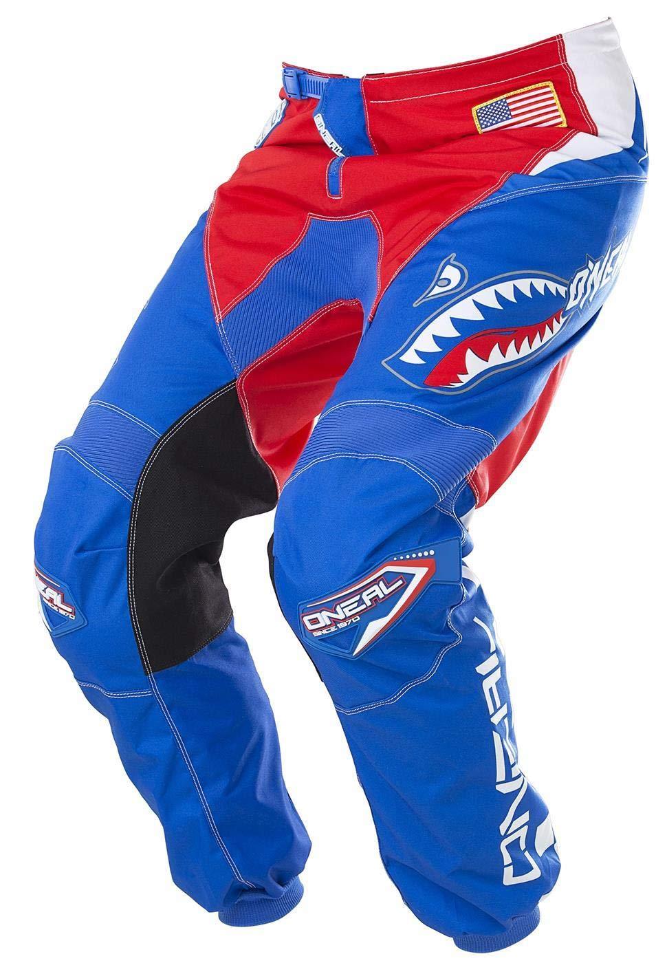 O'Neal Element Men's Afterburner Pant (Blue/Red, 32) O' Neal 0128-862